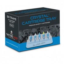 CRYSTAL CARTRIDGE TRAY 50pcs