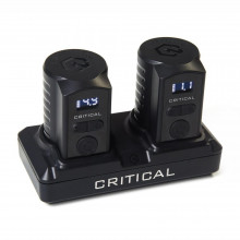CRITICAL BATTERY SET - DOCK + 2 BATTERIE RCA
