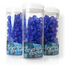 Crystal Clicks & Dispenser 140pcs