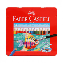 MATITE FABER CASTELL ACQUERELLABILI 24pcs