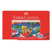 MATITE FABER CASTELL ACQUERELLABILI 36pcs