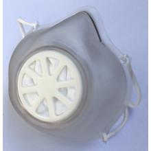 Mascherina in PVC, lavabile e riutilizzabile - con filtro sostituibile