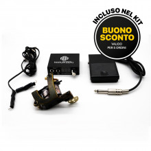 BASIC TATTOO KIT - COIL MACHINE V-STYLE