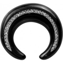 CRYSTAL HORN CIRCULAR CLAW TUSK SIDE